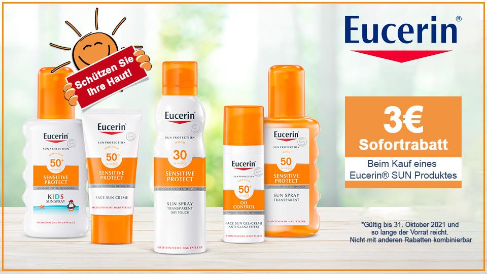 Eucerin SUN - 3 Euro Rabatt