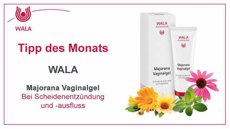 Homöopathie Tipp: WALA Majorana Vaginalgel