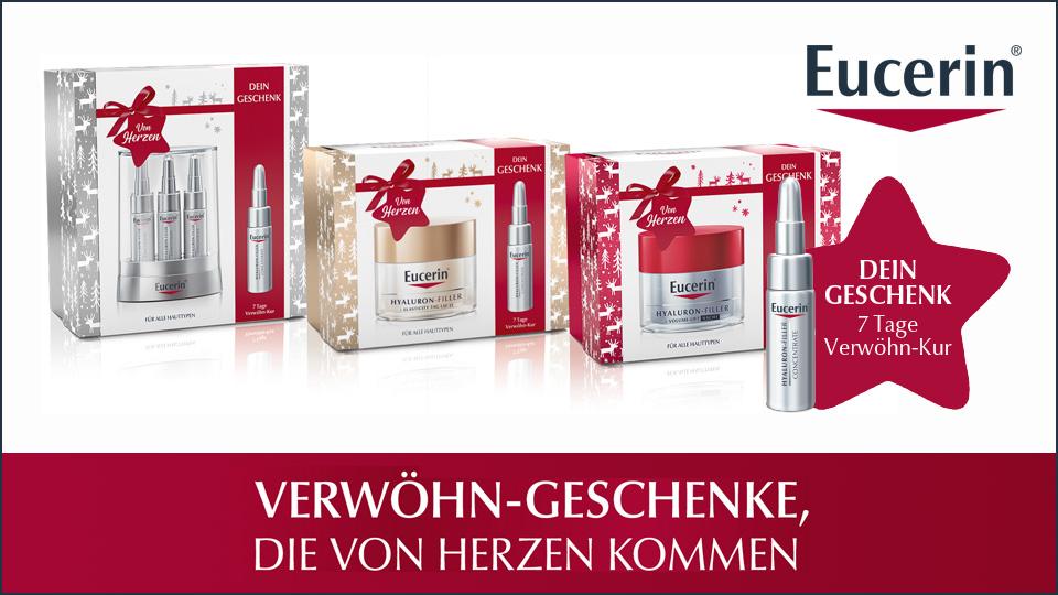 Eucerin® Weihnachts Geschenksets mit Gratiszugabe