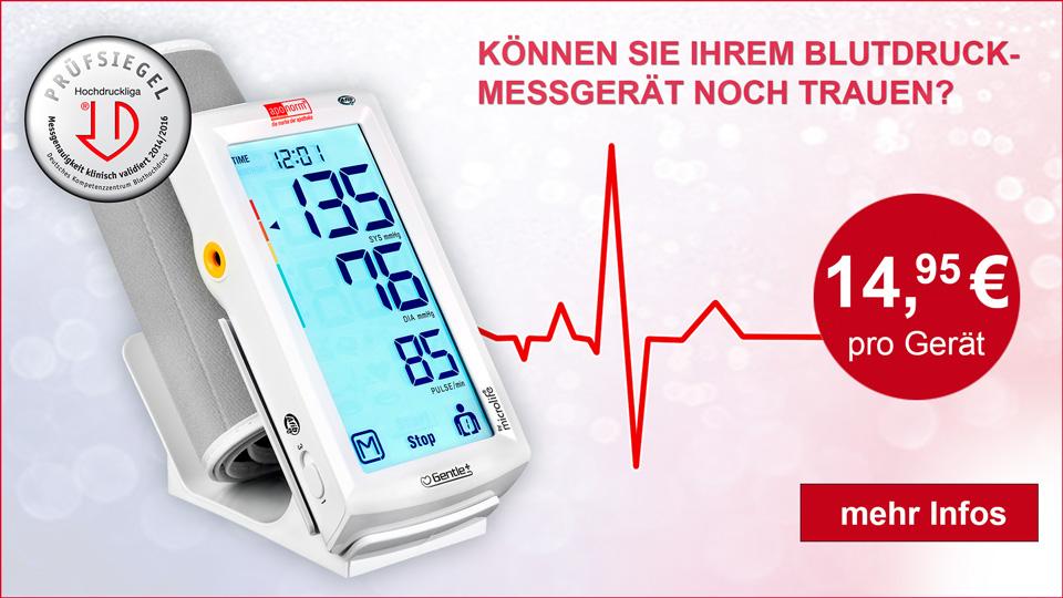 Blutdruckmessgeräte - Überprüfung
