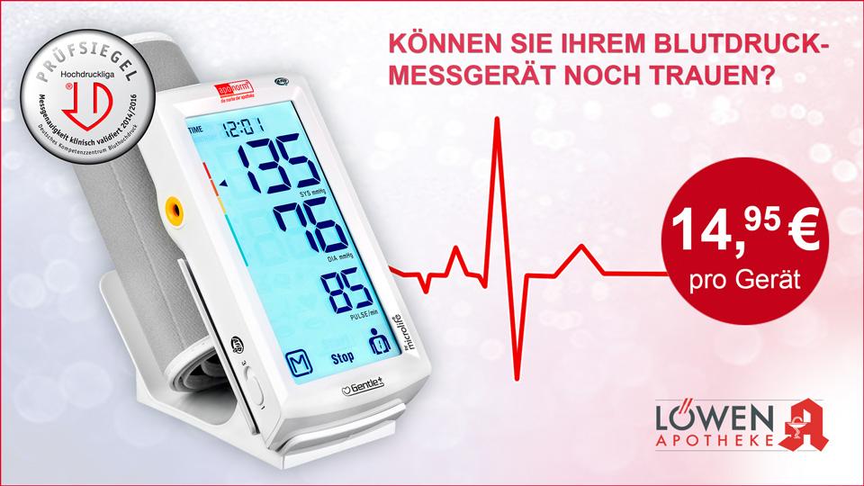 Blutdruckmessgeräte-Überprüfung