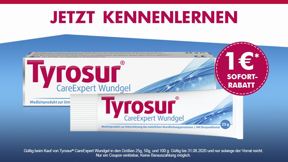 Tyrosur Wundheil Gel - 1 Euro Sparen