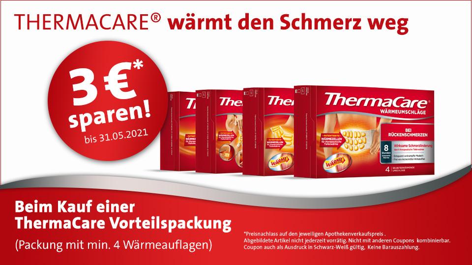 Thermacare - 3 Euro sparen